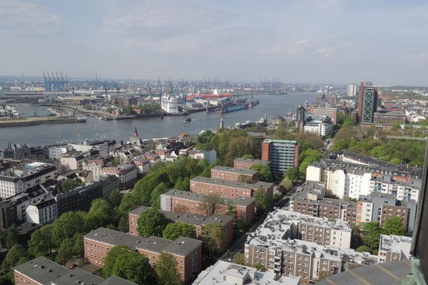Blick über die Hansestadt