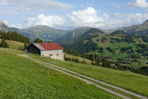 Wir fahren über den Col des Mosses ins Wallis