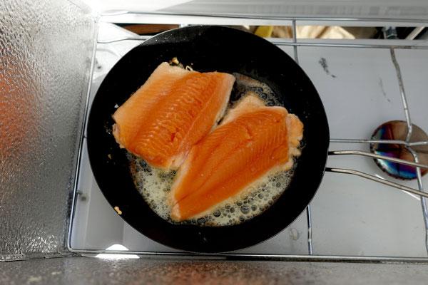 Mmhhh, feiner Fisch