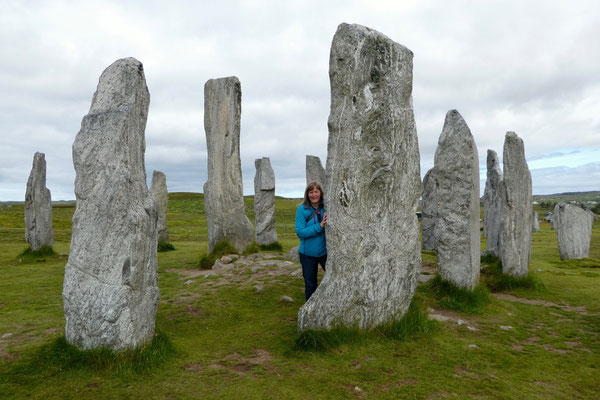 Die Standing Stones bei Callanish