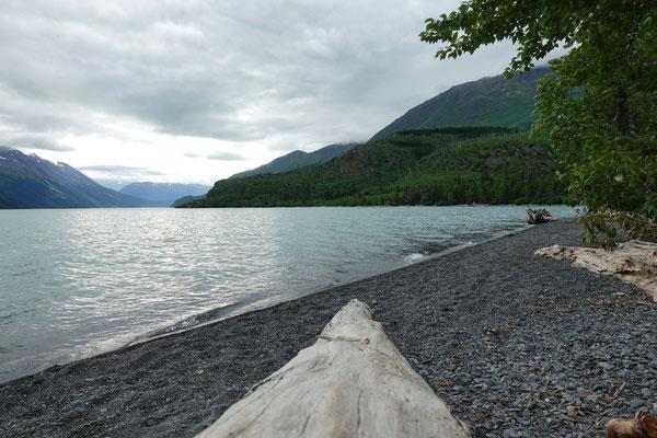 Camping am Kenai Lake