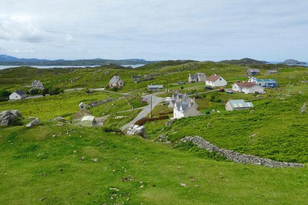 Liebliche Landschaft und viel Historisches auf Lewis