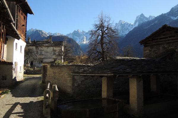 ...im historischen Dorfkern