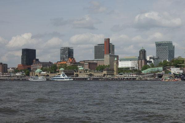 Die Stadt vom Wasser aus