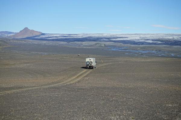 Wir fahren weiter Richtung Gletscher