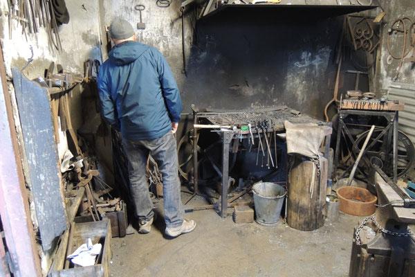 ...und anderes entdecken wir beim Dorfschmied in Pingeyri