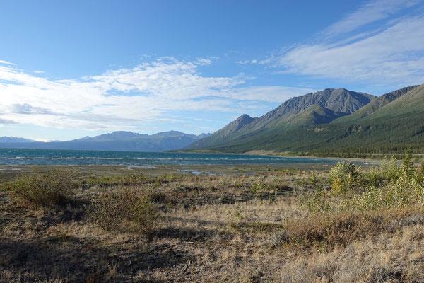 Der schöne Kluane-Lake