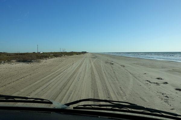 Sandfahren an der Golfküste
