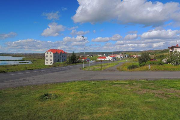 Schon sind wir in Reykjahlid...