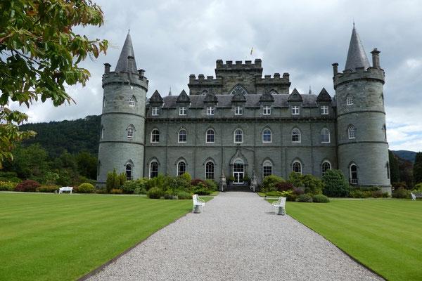...und das Märchenschloss in Inverary