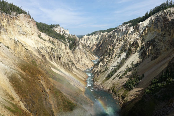 Der Grand Canyon of Yellowstone
