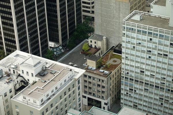 Auf den Dächern verbergen sich viele Sachen...