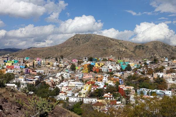 Blick auf das schöne Guanajuato