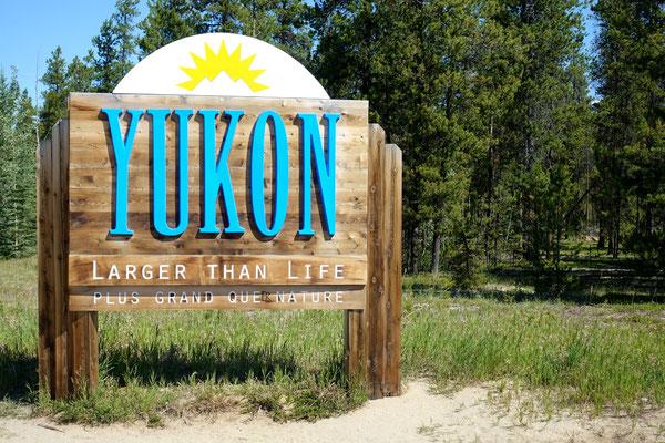 Wir sind im Yukon!