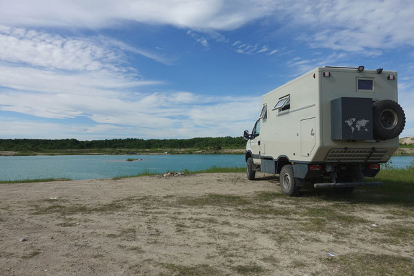 Am schönen See vor Winnipeg