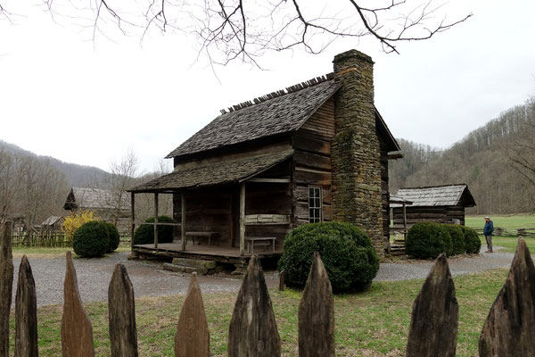 Old Village in Cherokee