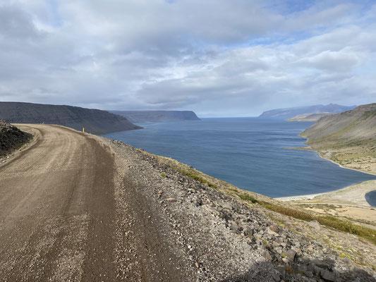 Hoch über dem Fjord...