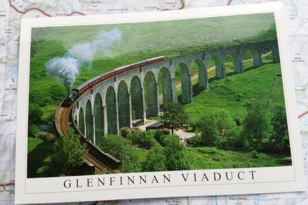 So sieht es aus mit dem Hogwarts-Express ;-)