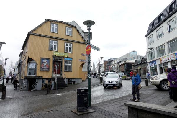 Spaziergang durch Reykjavik...