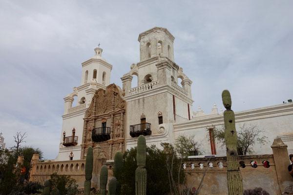San Xavier Mission bei Tucson
