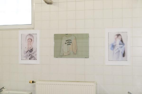Wortfetzen im Waschraum | Fotowerke © Sabine N. Grill | Fotos © Andreas Filzmair