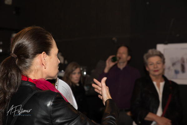Vernissage Ateliertheater, 5.11.19, Fotocredits © Andreas Filzmair
