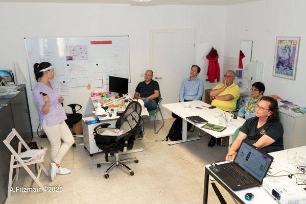 FotoWorkshop beim Präsentieren © Andreas Filzmair