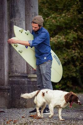 Unterkunft Temple House Manor Surfboards