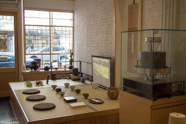 Tatami Mats and Stone Mill for Matcha