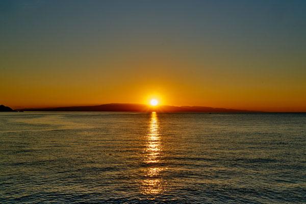 Sonnenaufgang in Naxos