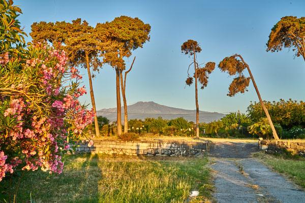 Naxos, Blick auf Etna