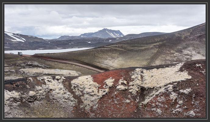 Landmannalaugar sur le volcan Stutur
