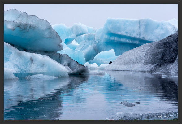 Jökulsarlon, un petit lac au pied du Vatnajökull et ses magnifiques icebergs !!!