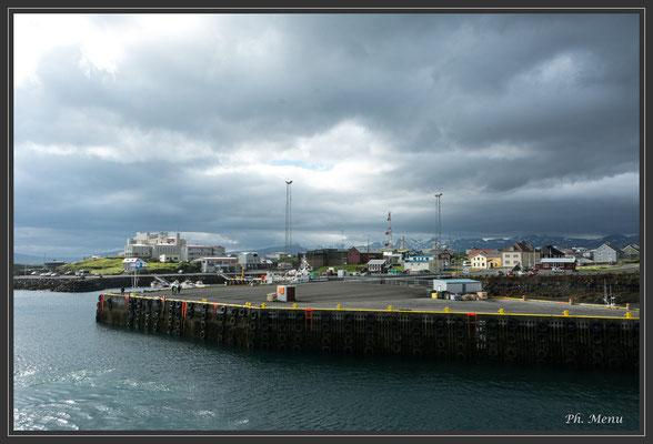 Stykkishólmur : le départ en bateau pour les fjords du nord-ouest