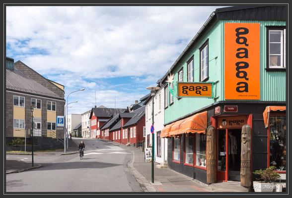 Les maisons colorées du vieux Reykjavik