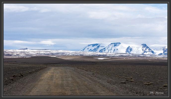 La piste F35, une de celles qui traversent l'Islande du nord au sud