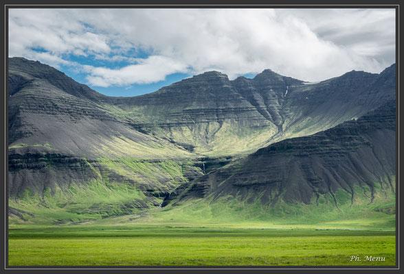 Paysage du sud de la péninsule de Snaefellsnes