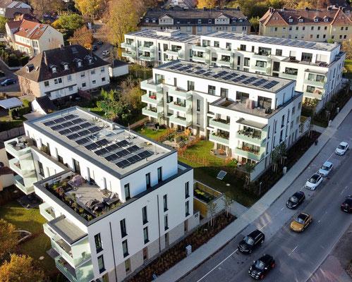 11.09.2021 Klimaschutzsiedlung Lohbachstraße Schwerte (Foto: GWG Schwerte)