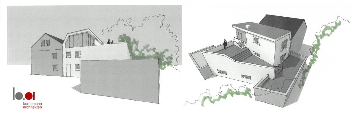 05.02.2020 Konzept für eine Wohnhausaufstockung in Schwerte