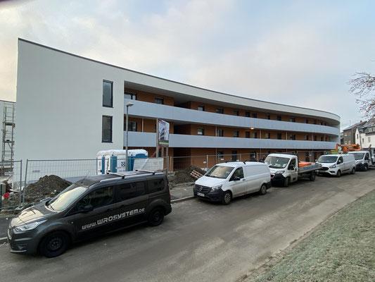 21.02.2021 Wohnbebauung Kleine Märkische Straße, Schwerte - der Einzug steht kurz bevor