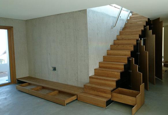 Funktionen des Treppenmöbels