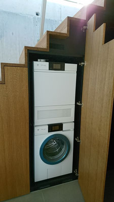 Integrierter Waschturm