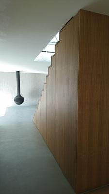 Sicht vom Eingangsbereich in Richtung Wohnraum