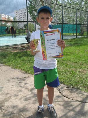 Артём Торба - победитель нетурового Первенства ДЮСШ №6 (10 лет и моложе)