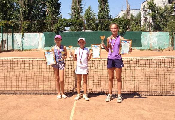 Кристина Ежова - 2 место - турнир, посвящённый Дню Города Волжского