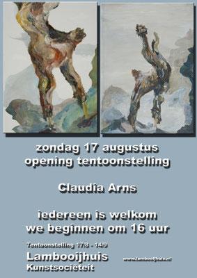 Flyer, Ausstellung  Lambooijhuis Hengelo , 2014