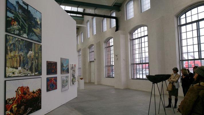 Kunsthalle Lingen, Mitgliederausstellung Januar 2014