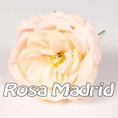 Flor Flamenca modelo Rosa Madrid