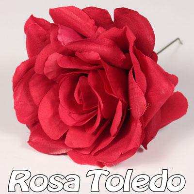 Flor Flamenca modelo Rosa Toledo