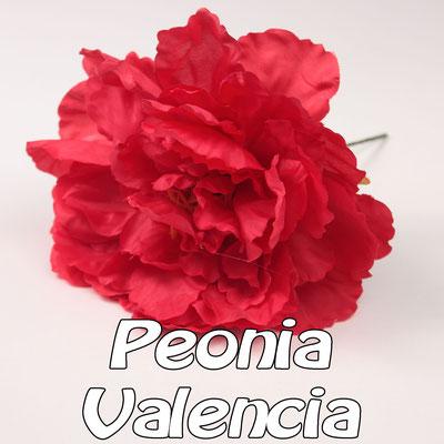 Flor Flamenca modelo Peonía Valencia